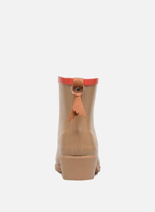 Bottines et boots Aigle MS Juliette BOT Beige vue droite