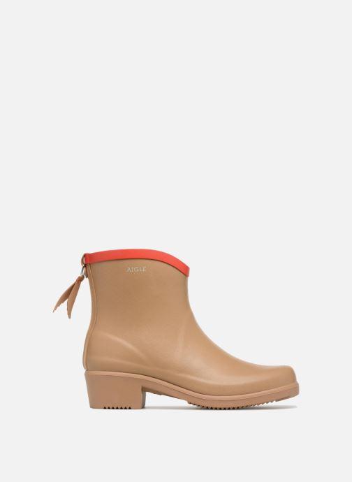 Bottines et boots Aigle MS Juliette BOT Beige vue derrière