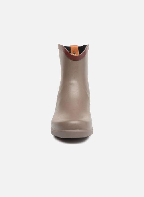 Bottines et boots Aigle MS Juliette BOT Marron vue portées chaussures