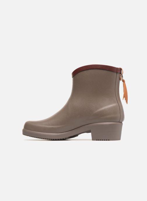 Bottines et boots Aigle MS Juliette BOT Marron vue face