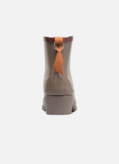 Bottines et boots Aigle MS Juliette BOT Marron vue droite