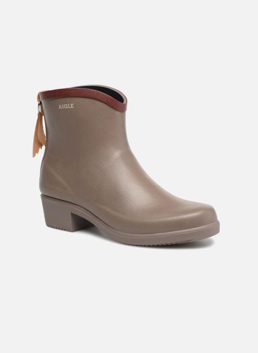 Bottines et boots Aigle MS Juliette BOT Marron vue détail/paire