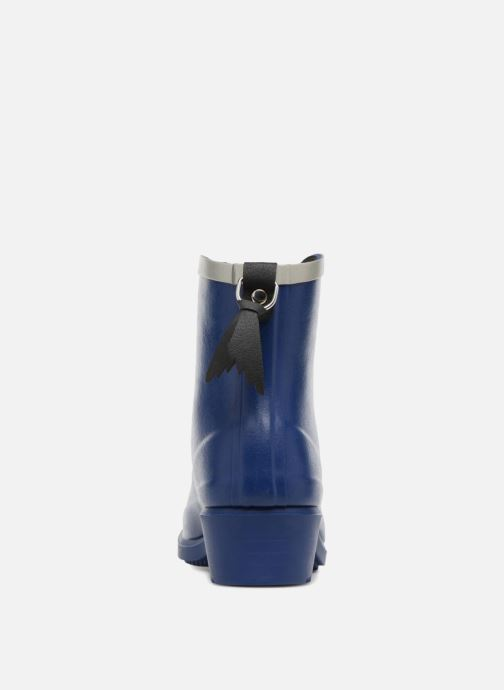 Ankle boots Aigle MS Juliette BOT Blue view from the right