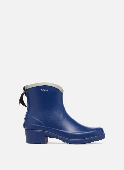 Ankle boots Aigle MS Juliette BOT Blue back view