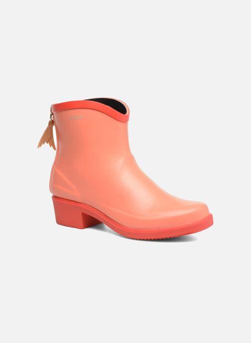 Bottines et boots Aigle MS Juliette BOT Orange vue détail/paire