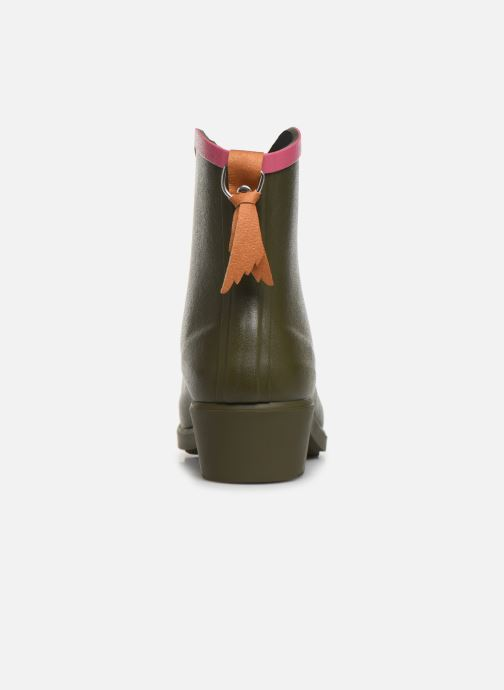 Bottines et boots Aigle MS Juliette BOT Vert vue droite