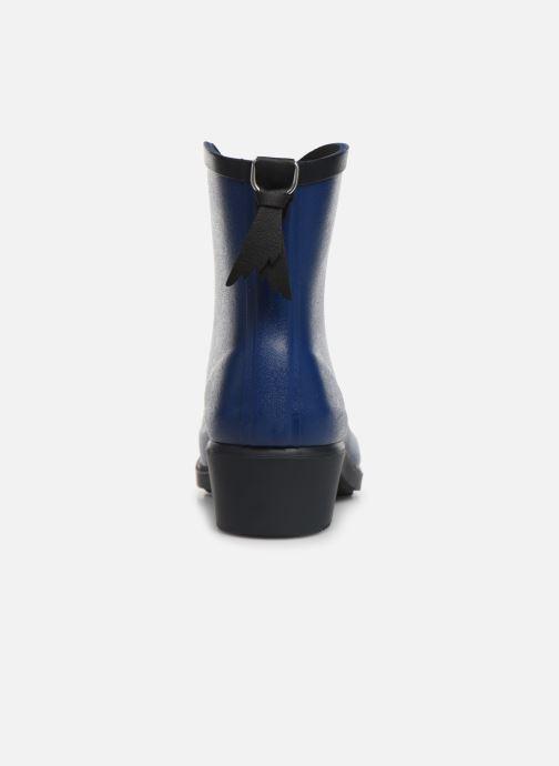 Bottines et boots Aigle MS Juliette BOT Bleu vue droite