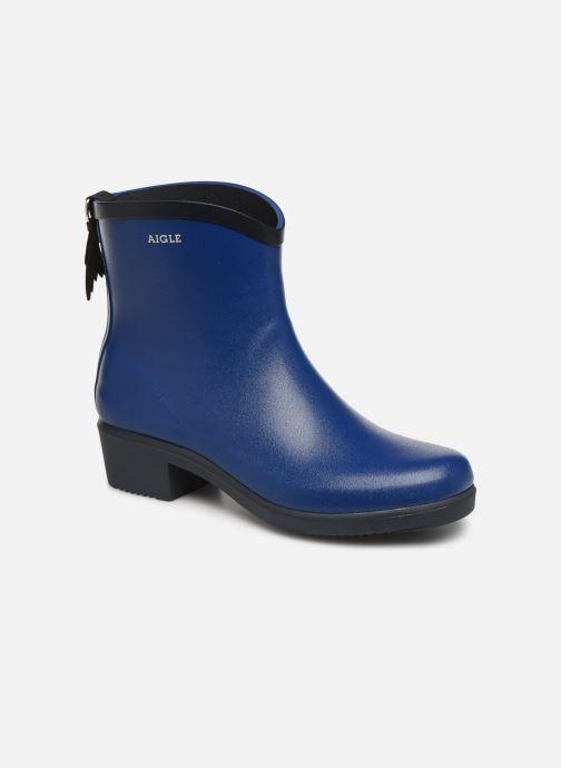 Bottines et boots Aigle MS Juliette BOT Bleu vue détail/paire