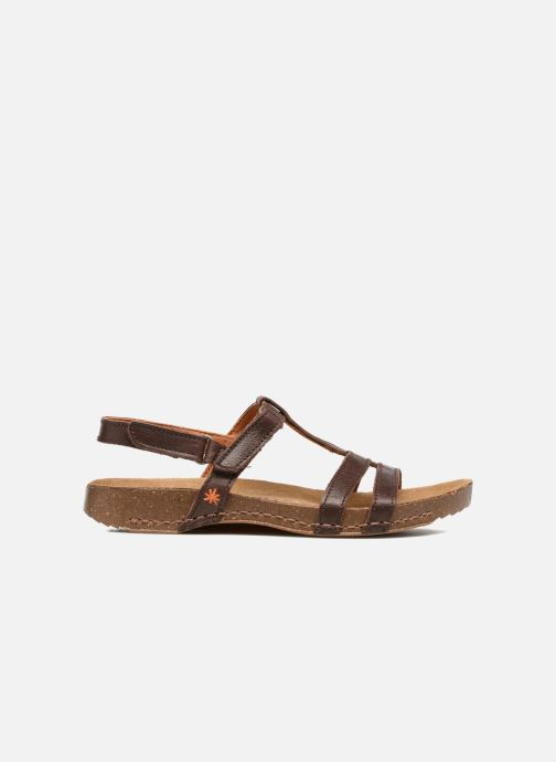 Sandales et nu-pieds Art I Breathe 946 Marron vue derrière