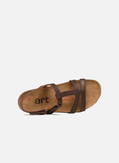 Sandalen Art I Breathe 946 braun ansicht von links