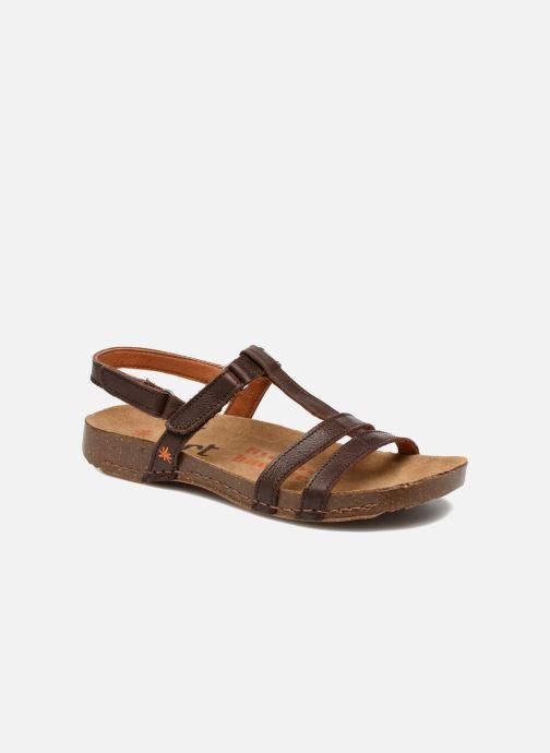 Sandales et nu-pieds Art I Breathe 946 Marron vue détail/paire