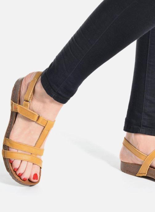 Sandalen Art I Breathe 946 schwarz ansicht von unten / tasche getragen