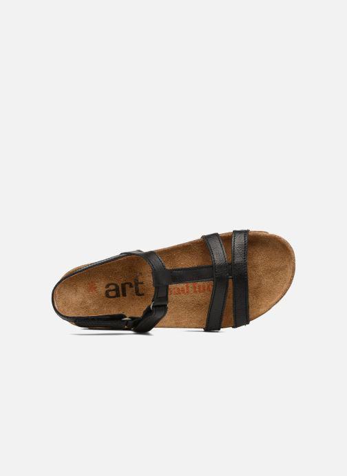 Sandales et nu-pieds Art I Breathe 946 Noir vue gauche