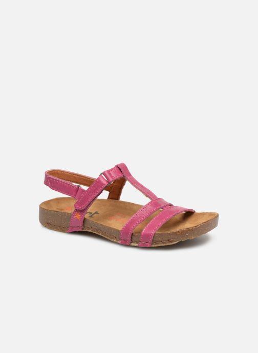 Sandales et nu-pieds Art I Breathe 946 Violet vue détail/paire
