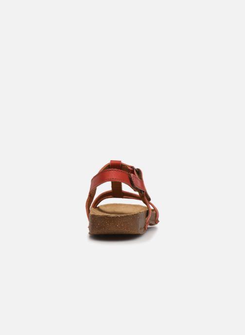 Sandales et nu-pieds Art I Breathe 946 Orange vue droite