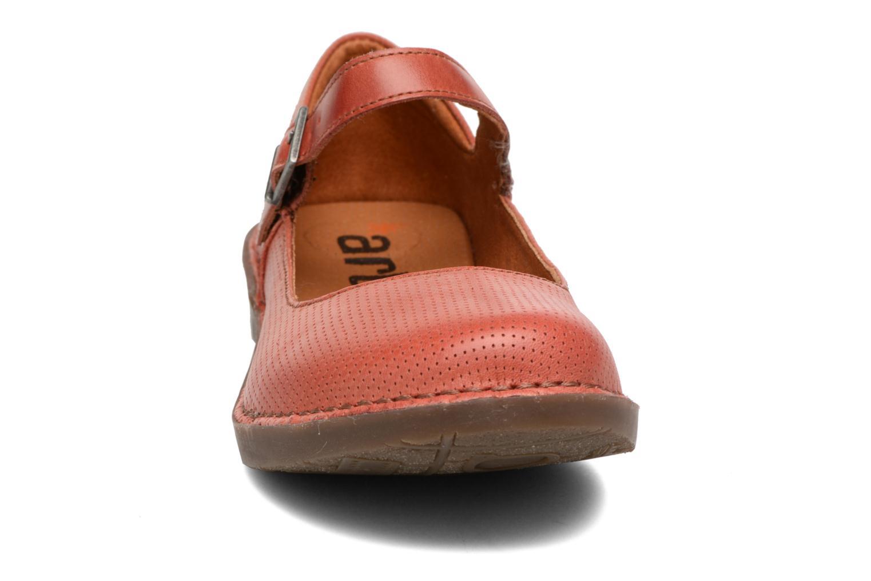 Ballerines Art Bergen 921 Rouge vue portées chaussures