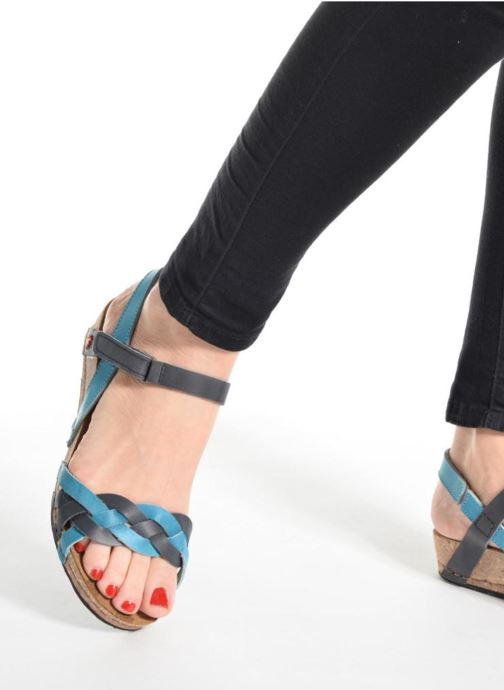 Sandals Art Pompei 735 Multicolor view from underneath / model view