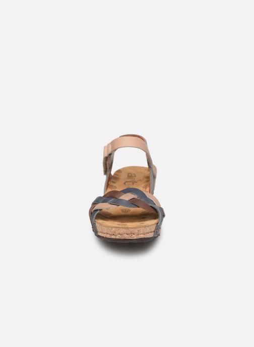 Sandales et nu-pieds Art Pompei 735 Bleu vue portées chaussures