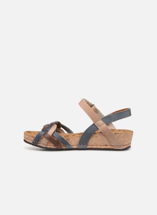 Sandales et nu-pieds Art Pompei 735 Bleu vue face