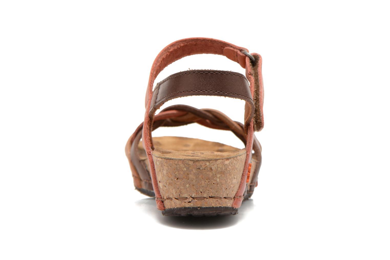 Sandali e scarpe aperte Art Pompei 735 Marrone immagine destra
