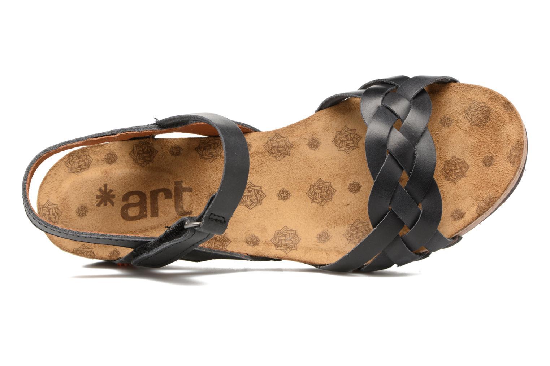 Sandales et nu-pieds Art Pompei 735 Noir vue gauche