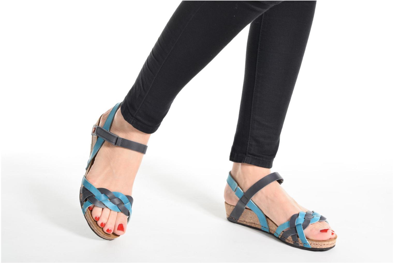 Sandali e scarpe aperte Art Pompei 735 Azzurro immagine dal basso