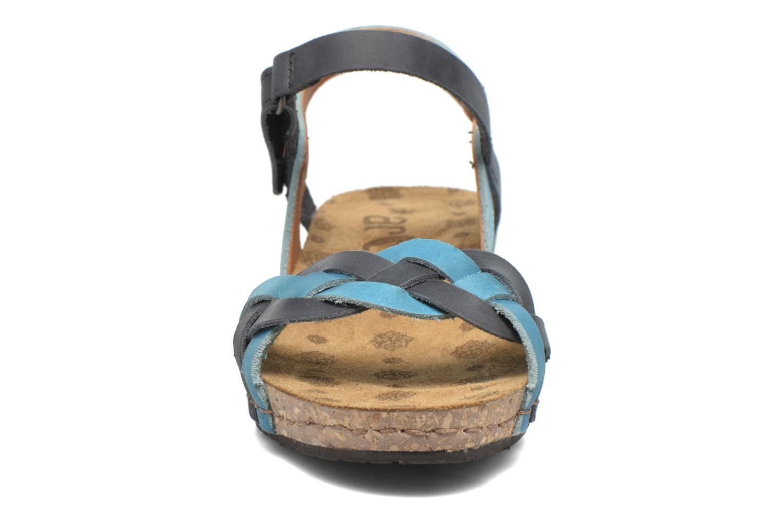 Sandali e scarpe aperte Art Pompei 735 Azzurro modello indossato