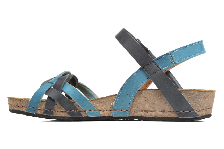 Sandali e scarpe aperte Art Pompei 735 Azzurro immagine frontale