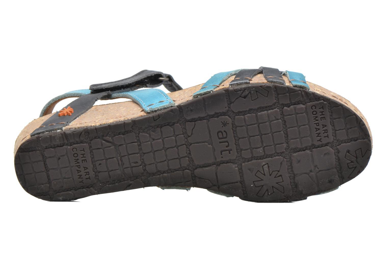 Sandali e scarpe aperte Art Pompei 735 Azzurro immagine dall'alto