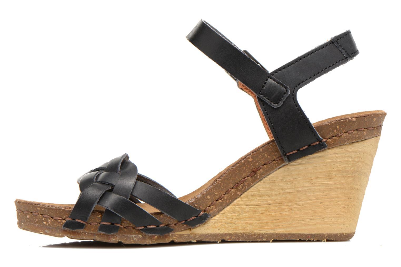 Sandalen Art Valby 439 schwarz ansicht von vorne