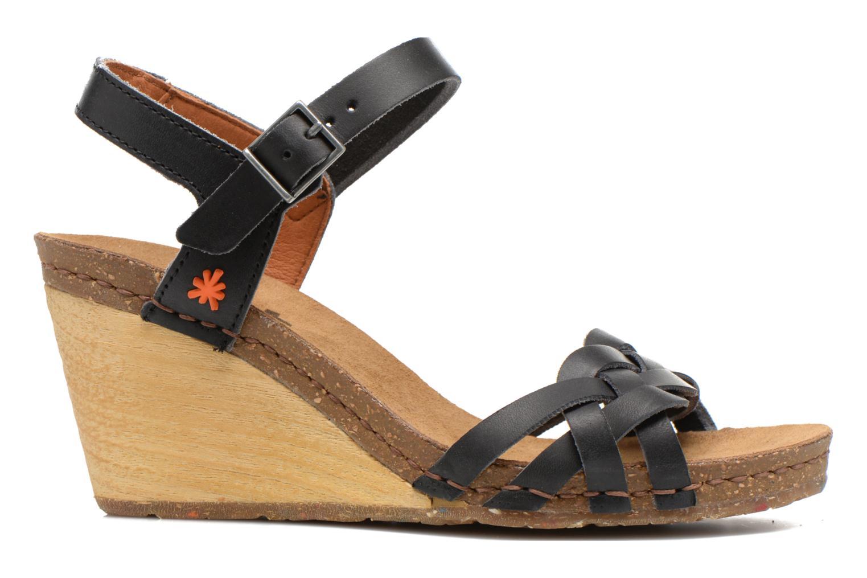 Sandalen Art Valby 439 schwarz ansicht von hinten