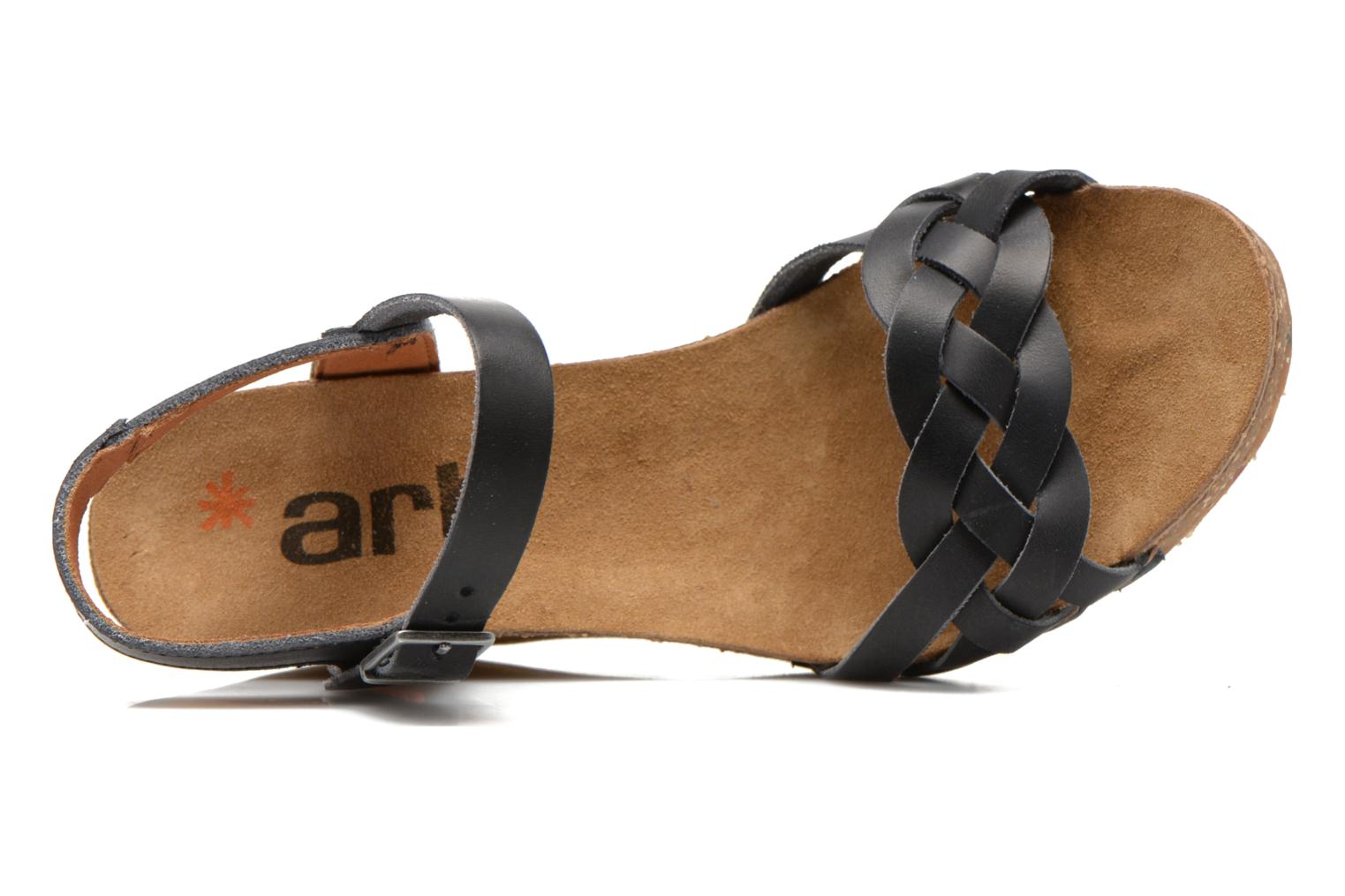 Sandalen Art Valby 439 Zwart links