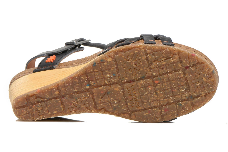 Sandalen Art Valby 439 schwarz ansicht von oben