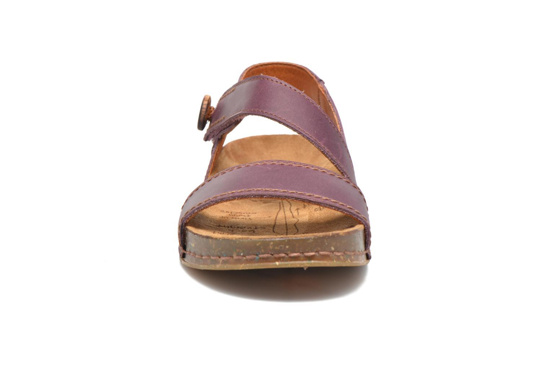Sandaler Art We Walk 868 Lila bild av skorna på
