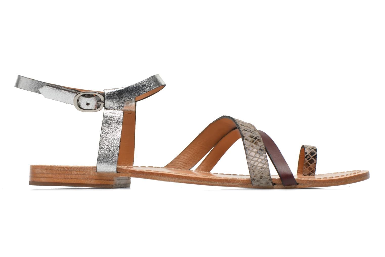 Sandals Petite mendigote Formentera Multicolor back view