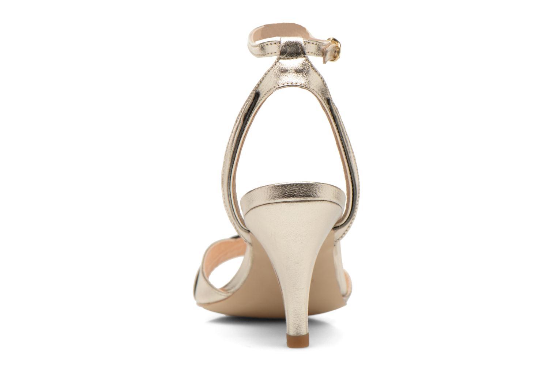 Sandales et nu-pieds Petite mendigote Maldive Or et bronze vue droite