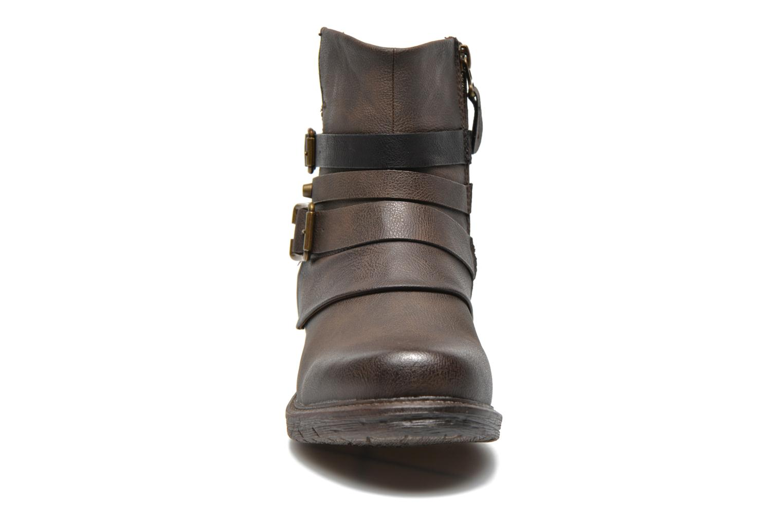 Bottines et boots Dockers Kara Marron vue portées chaussures