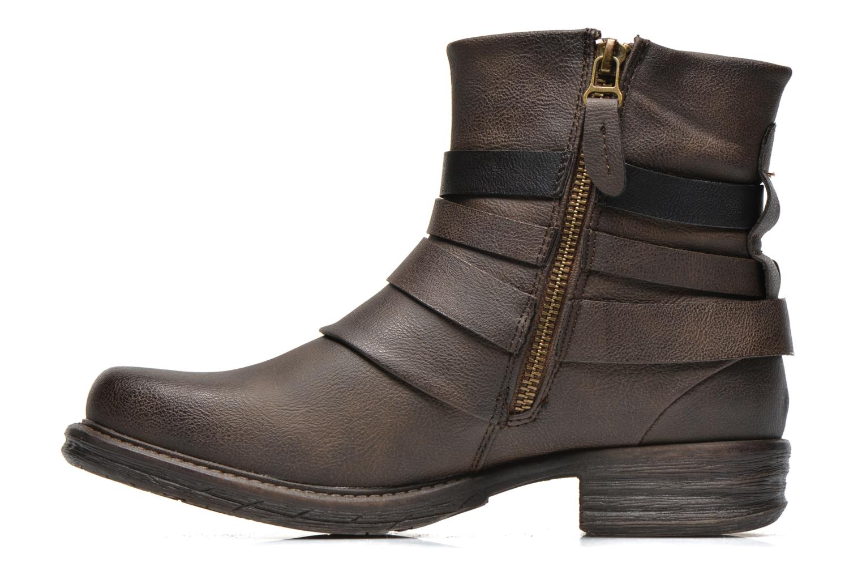 Bottines et boots Dockers Kara Marron vue face