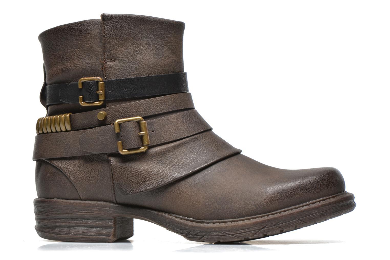 Bottines et boots Dockers Kara Marron vue derrière