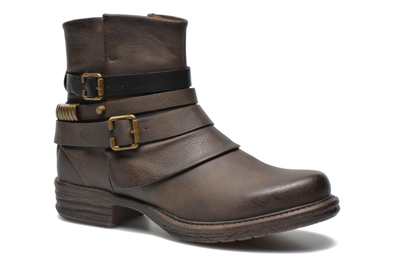Bottines et boots Dockers Kara Marron vue détail/paire