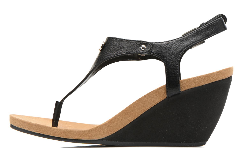 Sandales et nu-pieds Lauren by Ralph Lauren Ralla Noir vue face