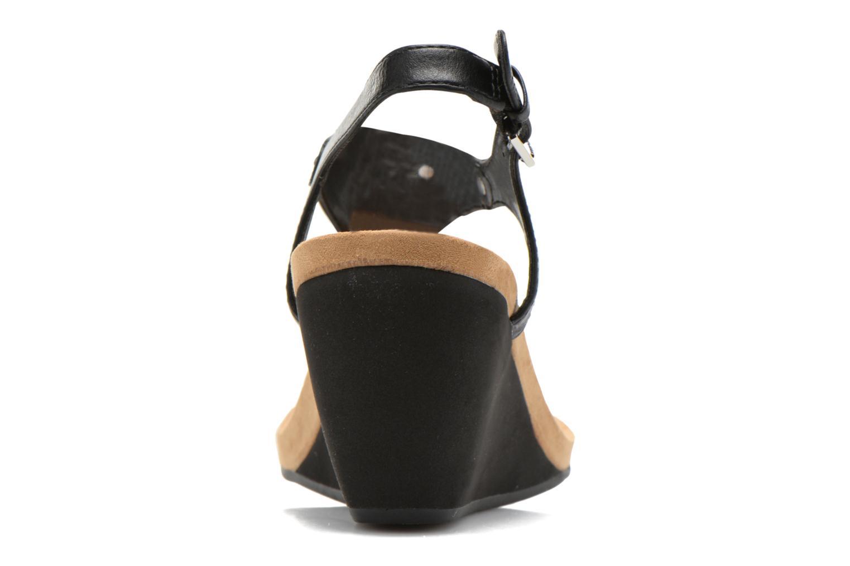 Sandales et nu-pieds Lauren by Ralph Lauren Ralla Noir vue droite