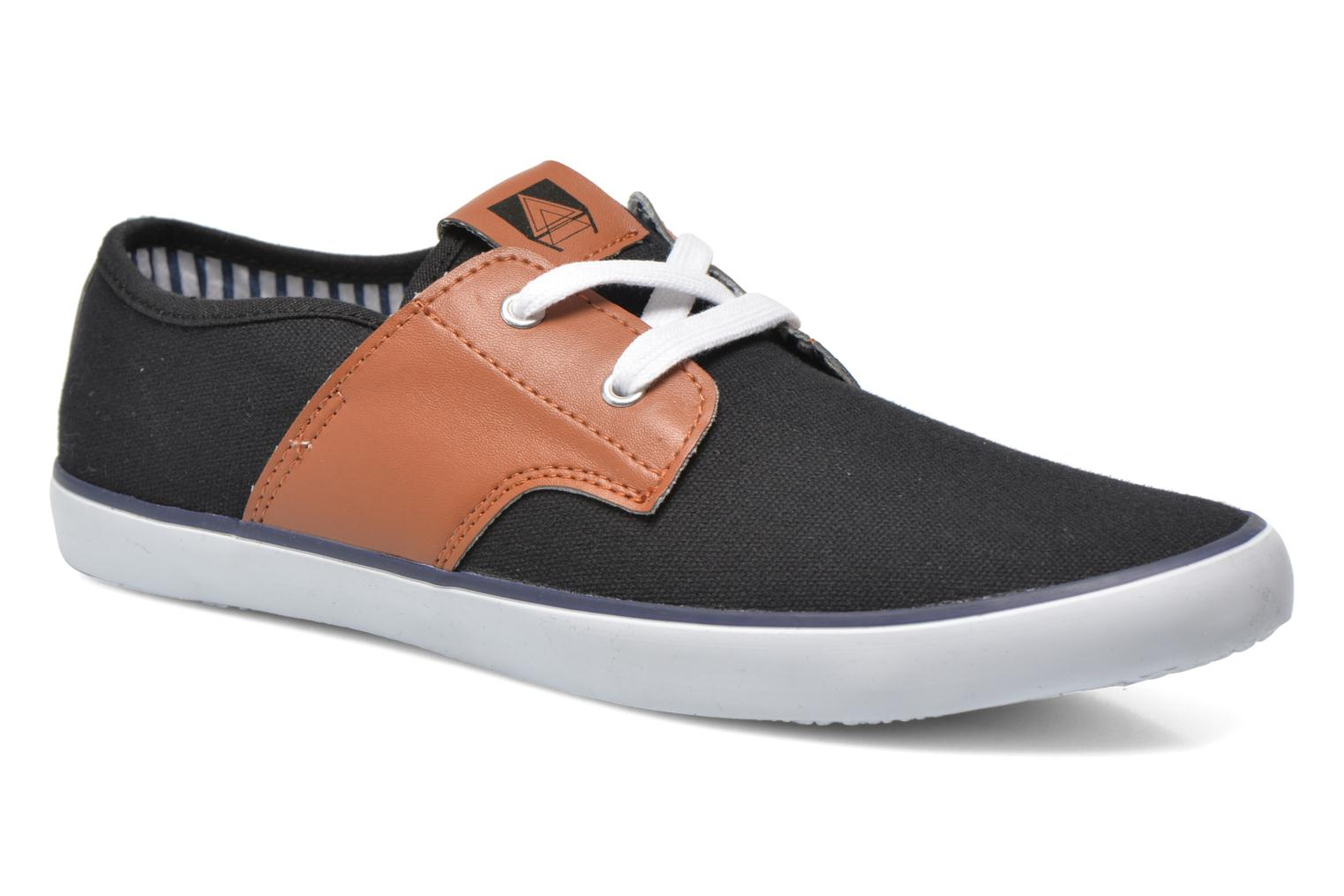 Baskets I Love Shoes Bavol Noir vue détail/paire
