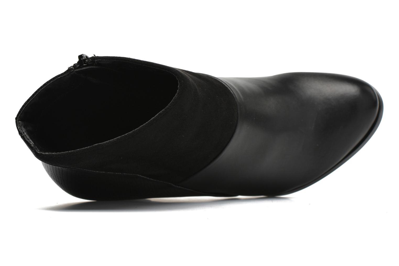 Bottines et boots Divine Factory Claire Noir vue gauche