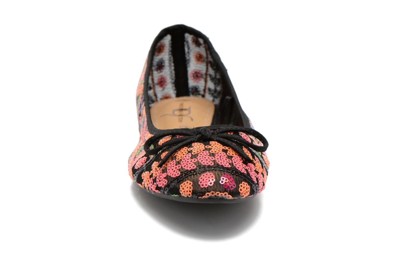 Ballerines Divine Factory Juliette Multicolore vue portées chaussures