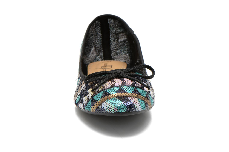 Ballerines Divine Factory Sarah Multicolore vue portées chaussures