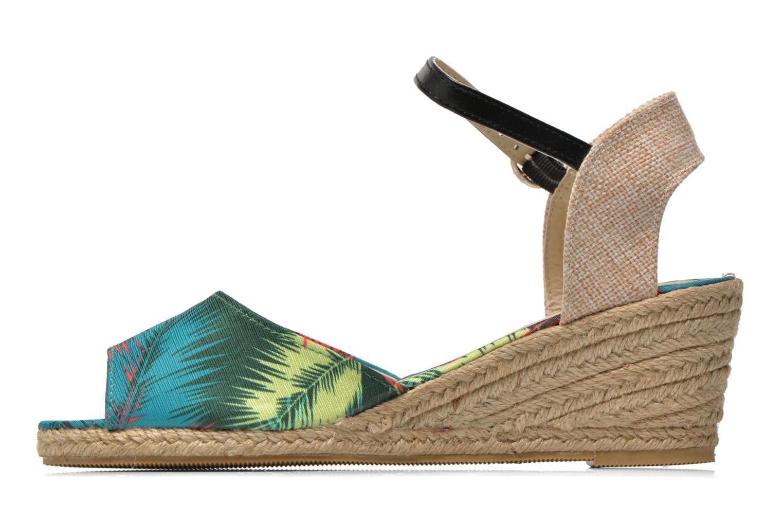 Sandales et nu-pieds Divine Factory Rosanna Multicolore vue face