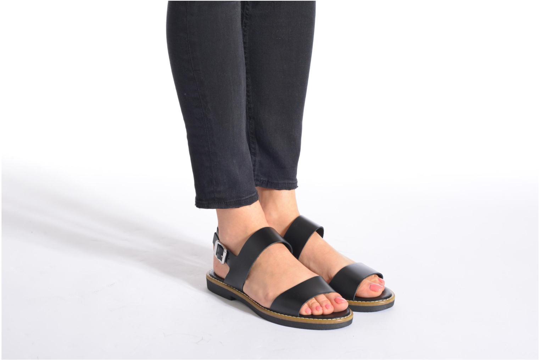 Sandalen Pieces Psjennifer Beige onder