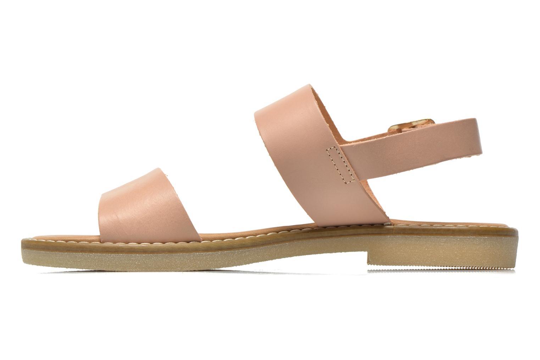 Sandalen Pieces Psjennifer Beige voorkant