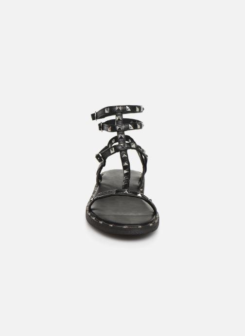 Sandales et nu-pieds Les Tropéziennes par M Belarbi Cassie Noir vue portées chaussures